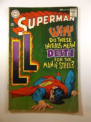 Superman #204 Classic Neal Adams Cover Solid VG- Condition!!