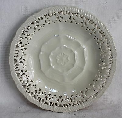 Hartley Greens & Co Leeds Pottery Yorkshire/Tudor Rose Creamware Plate