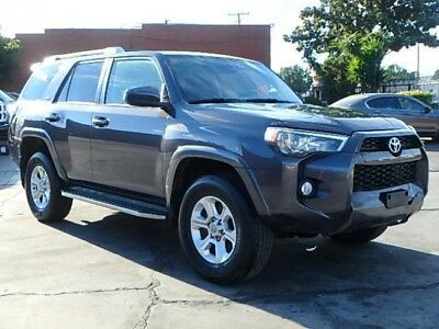 2014 Toyota 4Runner 4WD 2014 Toyota 4Runner V6 4WD Damaged Clean Title Loaded w Options Nice Project!