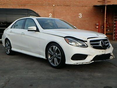2016 Mercedes-Benz E-Class 350 2016 Mercedes-Benz E350 Sedan Damaged Salvage Only 3K Mi Loaded Perfect Color!