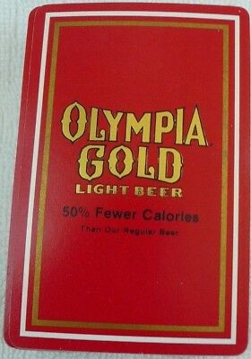 Olympia Gold Light Beer Playing Cards