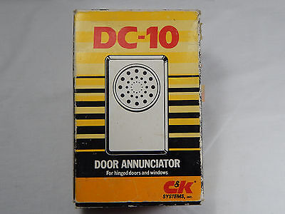 DC-10-04 Door Annunciator C&K Systems. (Air pressure change triggered sensor)