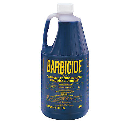 Barbicide Solution Disinfectant Solution Anti Rust Formula Barber Safety Salon