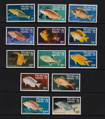 Pitcairn Islands - 1984 Fish set, Mint, NH