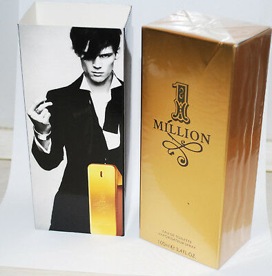 1 Million Cologne von Paco Rabanne Eau de Toilette 100 ml EDT Spray