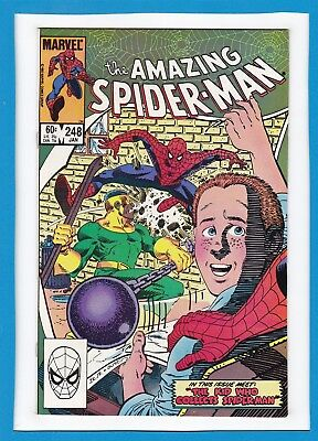 """Amazing Spider-Man #248_January 1984_Nm Minus_""""the Kid Who Collects Spider-Man""""!"""