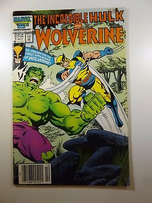 The Incredible Hulk and Wolverine Re-Presenting 1st Appearance of Wolverine! VG+