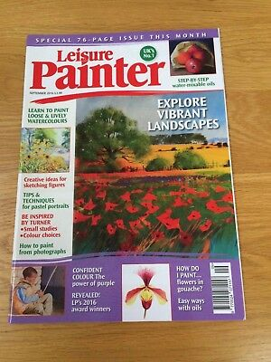 LEISURE PAINTER SEPTEMBER 2016 - Excellent Condition