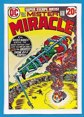 Mister Miracle #11_December 1972_Very Fine_Jack Kirby_Bronze Age Dc!
