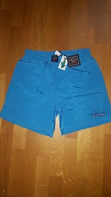 Paul & Shark blue shorts with lining large