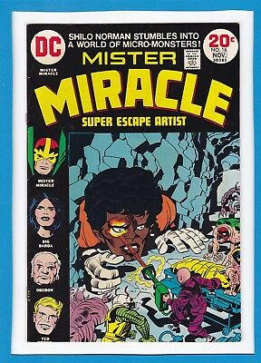 Mister Miracle #16_November 1973_Very Fine Minus_Bronze Age Dc_Jack Kirby!