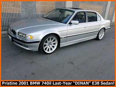 2001 BMW 7-Series 740il PRISTINE LAST-YEAR 2001 E38 BMW 740IL DINAN EDITION WITH MANY EXTRAS!