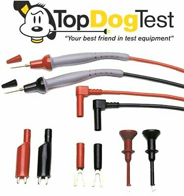 """ NEW "" Probe Master 8043S DMM Test Leads"