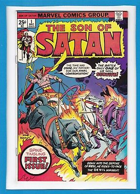 Son Of Satan #1_December 1975_F/vf_Spine-Tingling First Issue_Bronze Age Marvel!