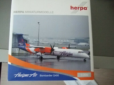 Herpa Wings Bombardier Dash 8-Q400 Horzon Air OVP