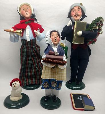 Lot 4X Vintage Byer's Choice Figures -  The Carolers