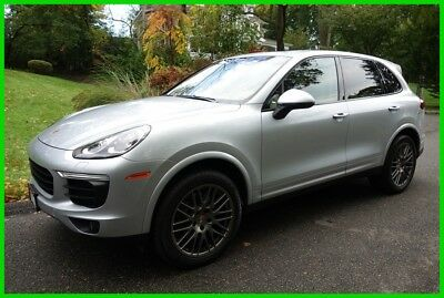 2017 Porsche Cayenne Platinum Edition 2017 Platinum Edition Used Certified 3.6L V6 24V Automatic AWD SUV Moonroof Bose