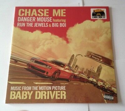 "DANGER MOUSE Run The Jewels/Big Boi CHASE ME 12"" Vinyl RSD Black Friday 2017 NEW"