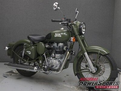 Royal Enfield BULLET C5 MILITARY  2016 ROYAL ENFIELD BULLET C5 MILITARY Used FREE SHIPPING OVER $5000