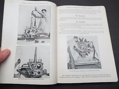 1928 Engine Manual -Whirlwind & Wasp / Packard / Curtiss OX-5 /Gnome / Liberty