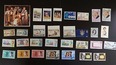 Pitcairn Islands lot of VF MNH complete sets cv$36.65 (v403)