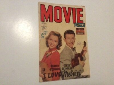 Movie Love #20 Vg Famous Funnies Comics 1953