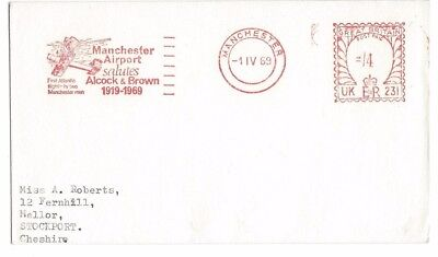 Manchester Airport Alcock & Brown Meter Mark 1969