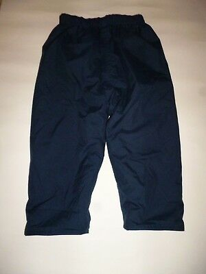 Boys Jojo Maman Bebe Blue Insulated Waterproof Trousers Age 2 - 3
