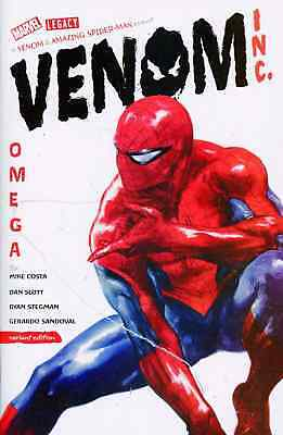 Amazing Spiderman Venom Inc Omega 1 Gabrielle Dell Otto 1:50 Incentive Variant