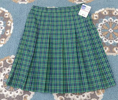 New Royal Park Girl Pleated School Uniform Skirt Reg (Size 20 Teen Half)