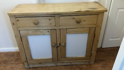 """Beautiful Antique Cabinet Sideboard Cupboard Drawer With """"used"""" Look"""