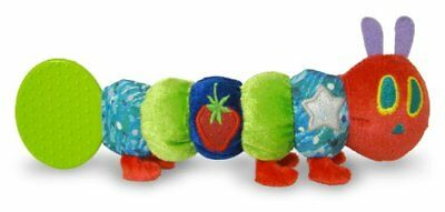 Kids Preferred Eric Carle The Very Hungry Caterpillar Baby Teether Rattle ~NEW~