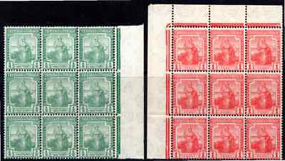 TRINIDAD and TOBAGO TWO STAMPS in *** M N H *** MULTIPLES