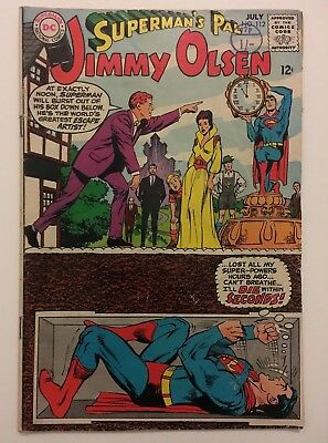 Superman's Pal Jimmy Olsen #112 DC Silver Age 1962 Classic Neal Adams VG/FN 5.0
