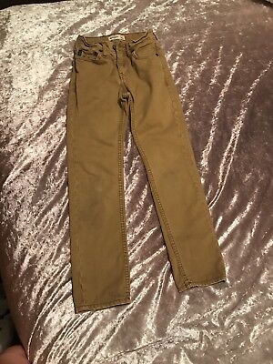 Stunning Boys Chino Style Trousers By Abercrombie & Fitch Age 8