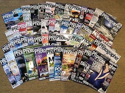 Digital Photographer magazines, 80 issues 2011-17, some unopened, with CD-ROMS