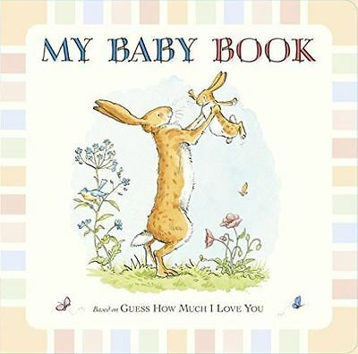 NEW  GUESS HOW MUCH I LOVE YOU BABY BOOK padded cover  front cover