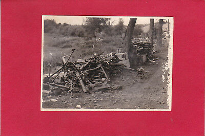 Foto 2 WK -Nr.117-ca 1940 - Beutewaffen bei Pagny - Pagny-la-Blanche-Cote Meuse