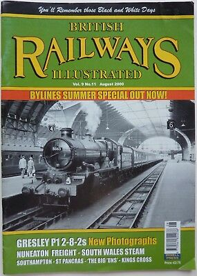 BRITISH RAILWAYS ILLUSTRATED VoL.9 No.11 AUGUST 2000 - GWR SOUTH WALES LOCOS