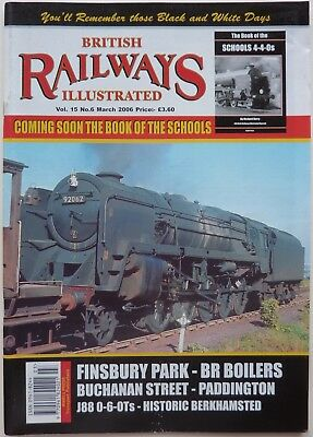 BRITISH RAILWAYS ILLUSTRATED Vol.15 No.6 MARCH 2006 - LNER ex NBR J88 0-6-0T