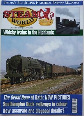 Steam World Issue 175 January 2002 - Gwr Great Bear, Southampton Docks