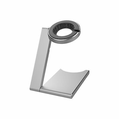 iClever Viewing Angle Solid Base Apple Watch Stand (Silver) Silver