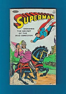 SUPERMAN Smashes the Secret of the Mad Director (1966, Paperback)