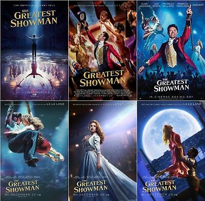 "The Greatest Showman Movie Poster Hugh Jackman Art Print 13x20"" 24x36"" 32x48"""