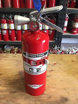 5 LB HALOTRON (2016) AMEREX FIRE EXTINGUISHER-FAA Approved w/Cert Tag