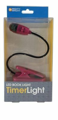 Mighty Bright Led Booklight Timer Light: Pink , (FREE SHIPPING)