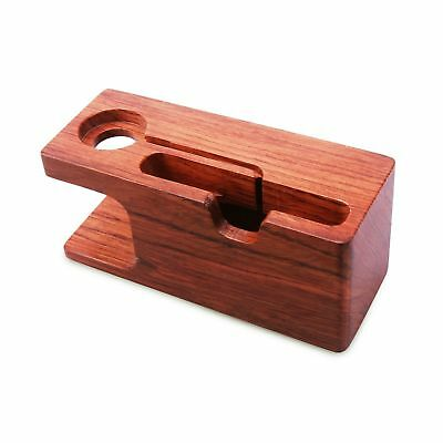 Apple Watch Stand Aerb Rosewood Charging Stand Bracket Docking Station Cradle...
