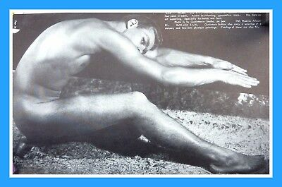 Physique Pictorial Vol10 No2 Male Semi Nude Gay Interest Photo Wrestling 6x4 Men