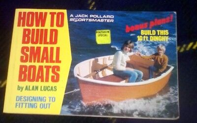 HOW TO BUILD SMALL BOATS 10 foot dinghy