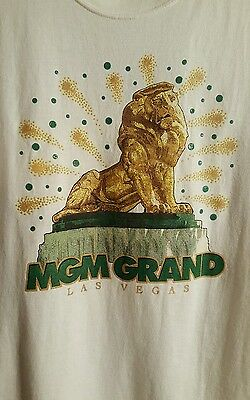 Vintage MGM Grand Las Vegas T Shirt Adult XL